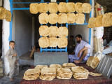 Men and Boys at Traditional Afghan Bakery