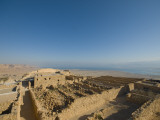 Masada Archaeological Site in the Negev