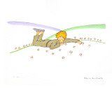 The Little Prince Dreaming (Le Reve)
