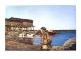 Restless  Newfoundland Fisherman
