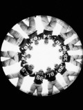 American Football Players in Huddle