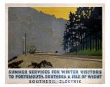 Summer Services for Winter Visitors  SR  c1937