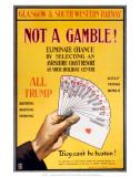 Not a Gamble!  GSWR  c1910