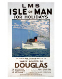Isle of Man for Holidays  LMS  c1923-1947