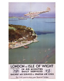 London & Isle of Wight in 40 Minutes  SR  c1935