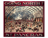Going North St Pancras  MR  c1910