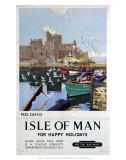 Peel Castle  Isle of Man  BR  c1949