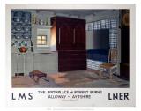 The Birthplace of Robert Burns  LMS/LNER  c1923-1947