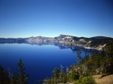 Crater Lake in Crater Lake National Park  Oregon  USA