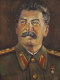 Soviet-Era Art  MJV Stalin By Johannes Saal  1952  Art Museum of Estonia  Tallinn  Estonia