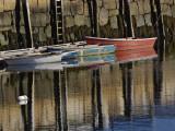 Boat in Harbor  Cape Ann  Rockport  Massachusetts  USA