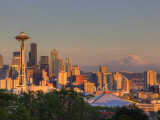 Skyline From Kerry Park  Seattle  Washington  USA