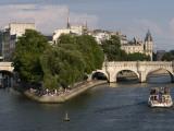 Ile De La Cite  Paris  France