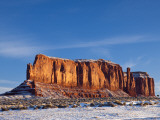 Monument Valley in the Snow  Monument Valley Navajo Tribal Park  Arizona  USA
