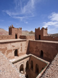 Deserted Kasbah on the Road of a ThoUSAnd Kasbahs  Tenirhir  Morocco
