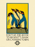 For the Zoo, Book to Regent's Park Reproduction d'art