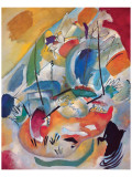 Improvisation N.31 : bataille navale Giclée premium par Wassily Kandinsky