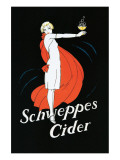 Schweppes Cider Giclée premium