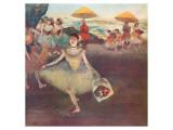 Danseuse au Bouquet Saluant Giclée premium par Edgar Degas
