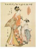 Courtesan Somenosuke of Matsubaya