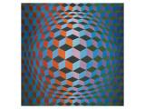 Squares Giclée premium par Victor Vasarely