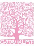 Pink Tree of Life Giclée premium par Gustav Klimt