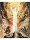 God Writing the Commandments Boards Giclée premium par William Blake