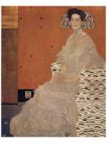 Portrait of Fritza Riedler Giclée premium par Gustav Klimt