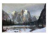 Cathedral Rocks  Yosemite Valley  California