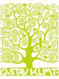 L'arbre de vie vert Giclée premium par Gustav Klimt