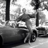 MG Girl  Paris  1957