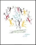 La ronde de la jeunesse Reproduction montée par Pablo Picasso