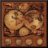 Antique Map  Cartographica III