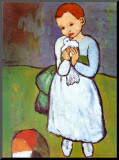 Child with a Dove  c1901