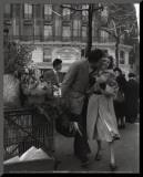 Paris, 1950 Reproduction montée par Robert Doisneau
