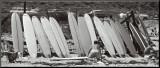 Waxing Up, 1960 - Surf Reproduction montée par Leigh Wiener