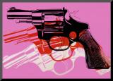 Pistolet, vers 1981-82 Reproduction montée par Andy Warhol