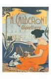 Calderoni Gioielliere 1898 Reproduction d'art par Adolfo Hohenstein