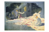 Madame Butterfly 1904 Reproduction d'art par Adolfo Hohenstein