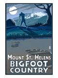 Mount St Helens - Bigfoot Scene
