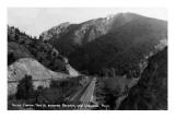 Montana - Rocky Canyon between Bozeman and Livingston
