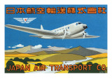 Japan Air Transport Label