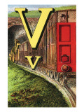 V For the Van That Follows the Train