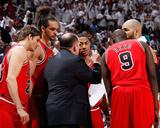 Chicago Bulls v Atlanta Hawks - Game Four  Atlanta  GA - MAY 8: Tom Thibodeau  Kyle Korver  Joakim
