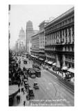 San Francisco  California - Emporium and Market Street Cable Cars