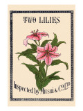 Two Lilies By Matsui