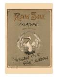 Raw Silk Filature Round Stork Chop  Yokohama