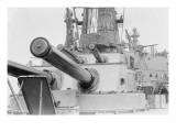 Naval Guns on the Battleship Michigan