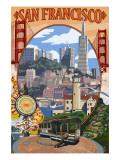 San Francisco  California Scenes