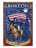 Old North Church and Paul Revere - Boston  MA